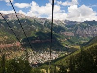 Descending into Telluride